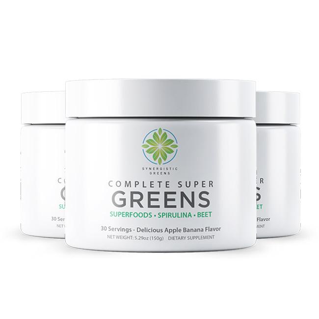 Complete Super Greens 3 Pack