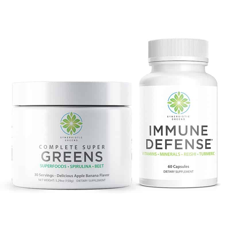 Complete Super Greens and Immune Defense Package
